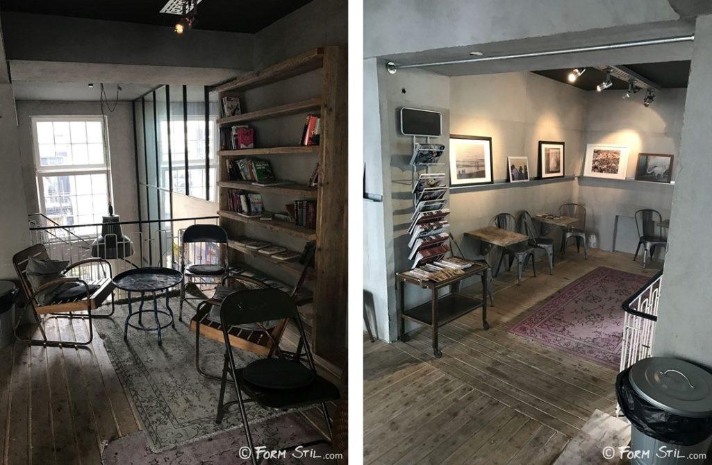 Innenraum Perspektive Café Ozone Bielefeld Interior