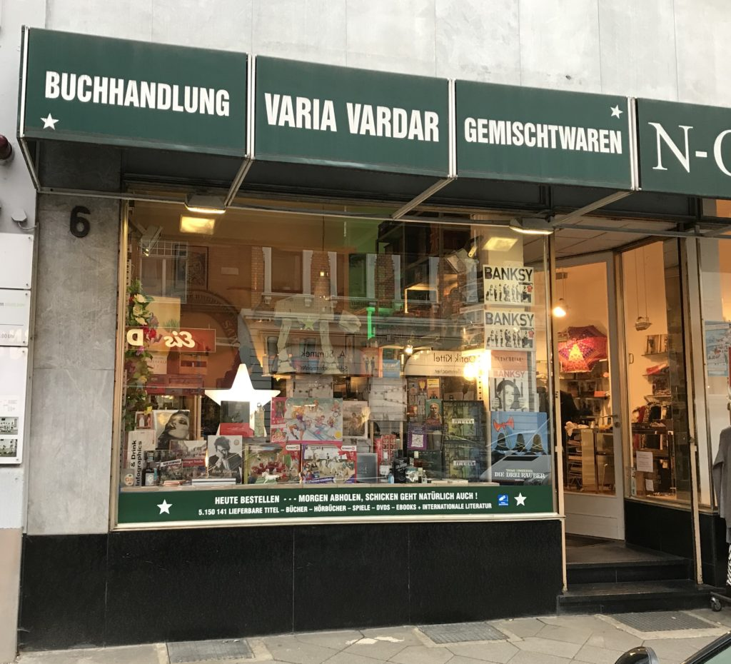 Laden-Ansicht Varia Vardar Düsseldorf