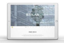 b3plan homepage desing intrnet online