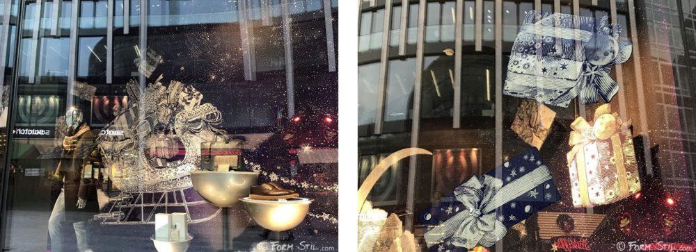 Breuninger Schaufenster Deko Weihnachten
