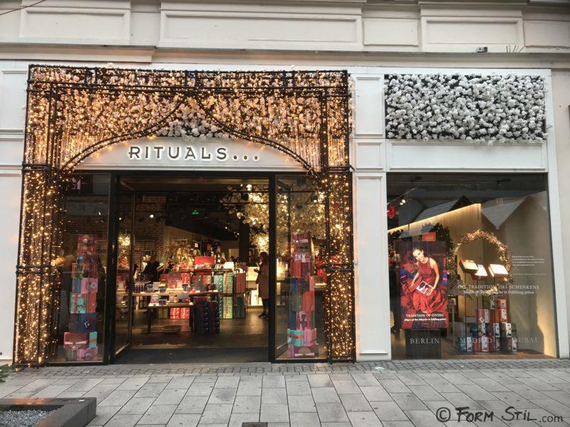 Rituals Lampen Weihnachten Schaufensterdeko Deko Schaufenster