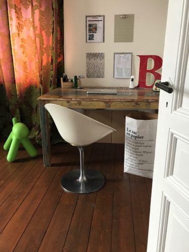 Schreibtisch Stuhl Design Papiertüte dezignzign