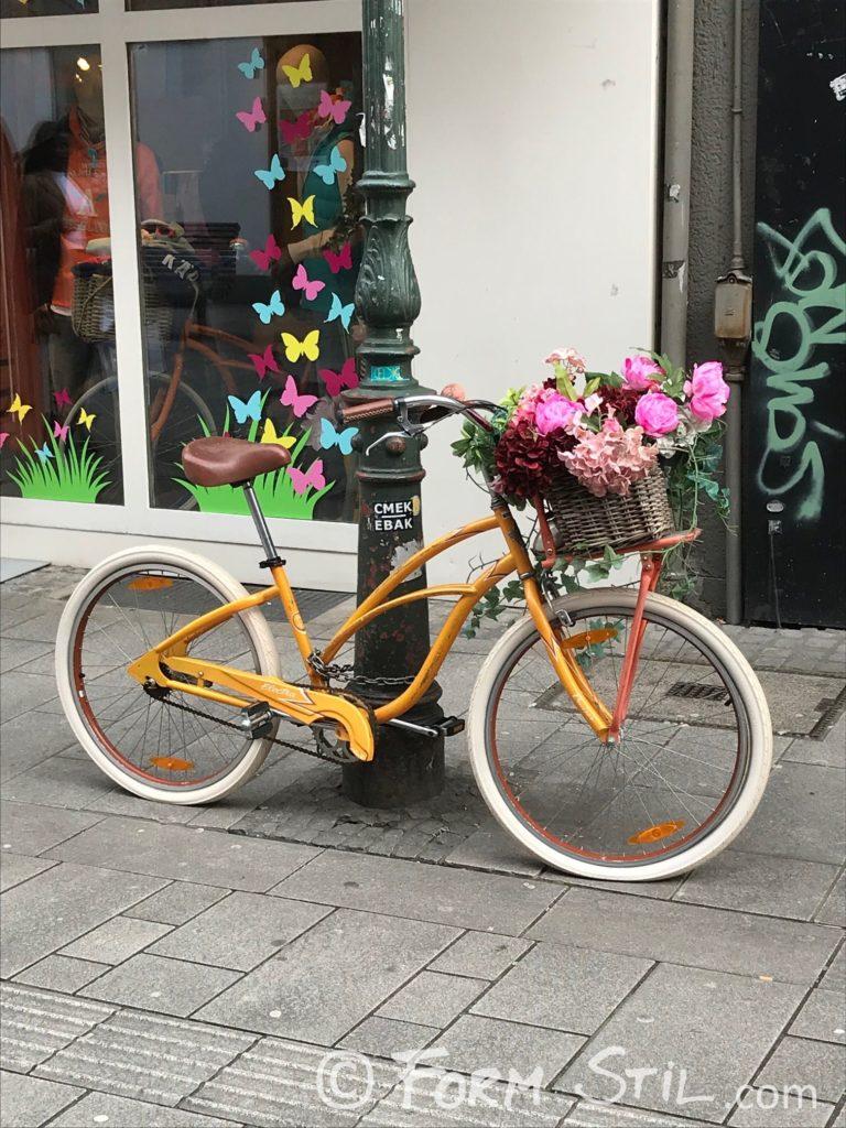urban, urbanart, Stadtbilder, Stadtleben, Details, 12von12, März, Fahrrad, Blumen, bunte Blumen, Frühling, Spring, Frühlingsboten