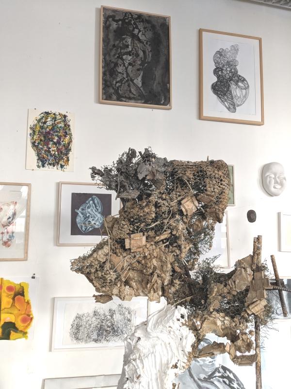 Bettina Meyer Künstlerin Düsseldorf Atelier Kunst Skulptur Atelierbesuch Interview Portfolio art artist