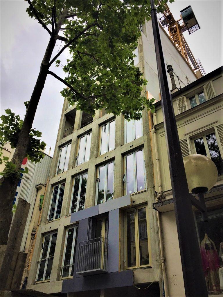 Gerd Kaiser, Architekt. Interview auf  Formstil unter der Rubrik Kenn'se schon. Architektur in Paris. Projekt: 19 Sozialwohnungen 75017 Paris