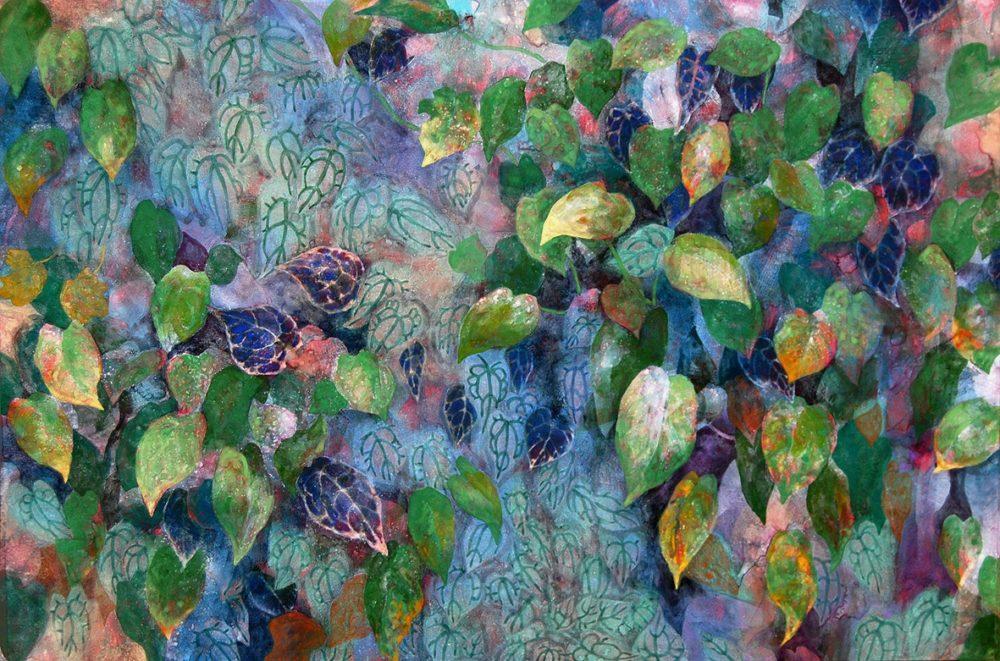 Malerei Kunst Gemälde Künstlerin Miki Terao art Bild