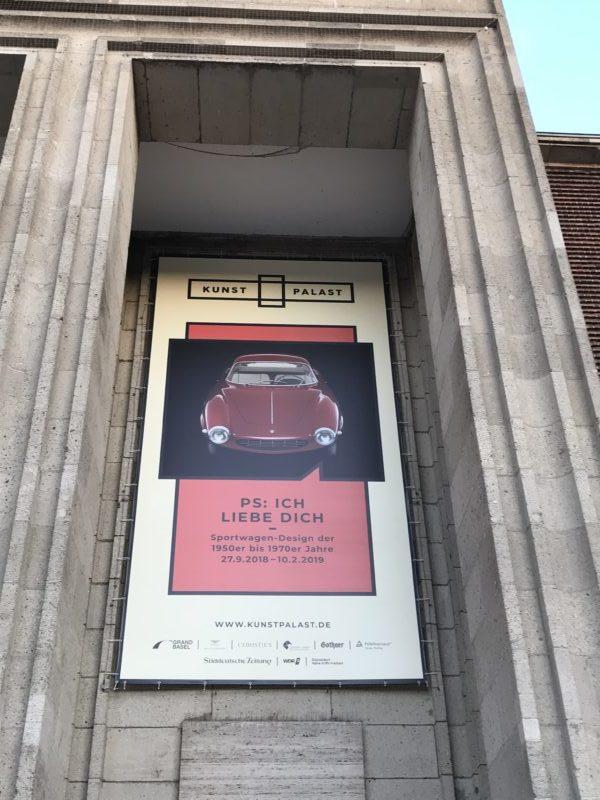 Ausstellung Plakat Auto Oldtimer Düsseldorf