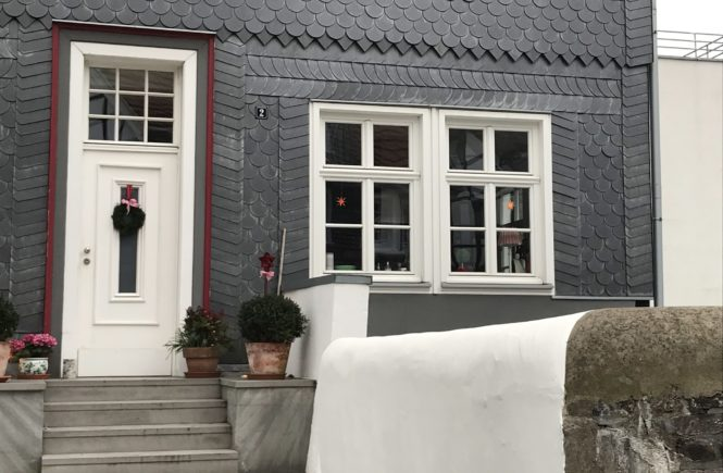 Schiefer, Fassade, Haus, Hattingen, Mittelalter, Weihnachten, Weihnachtsmarkt, Ausflug, Entdecken