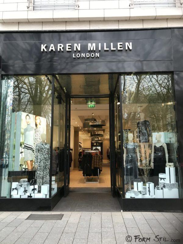 Weihnachten Fensterdeko Schaufenster Weihnachtsdeko Karen Millen