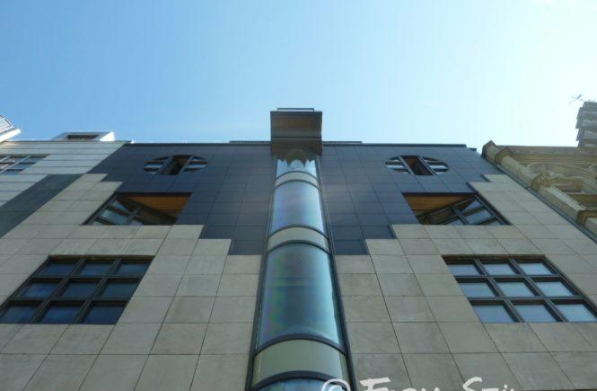 Fassade Architektur Häuser Challenge #blickindiehöhe