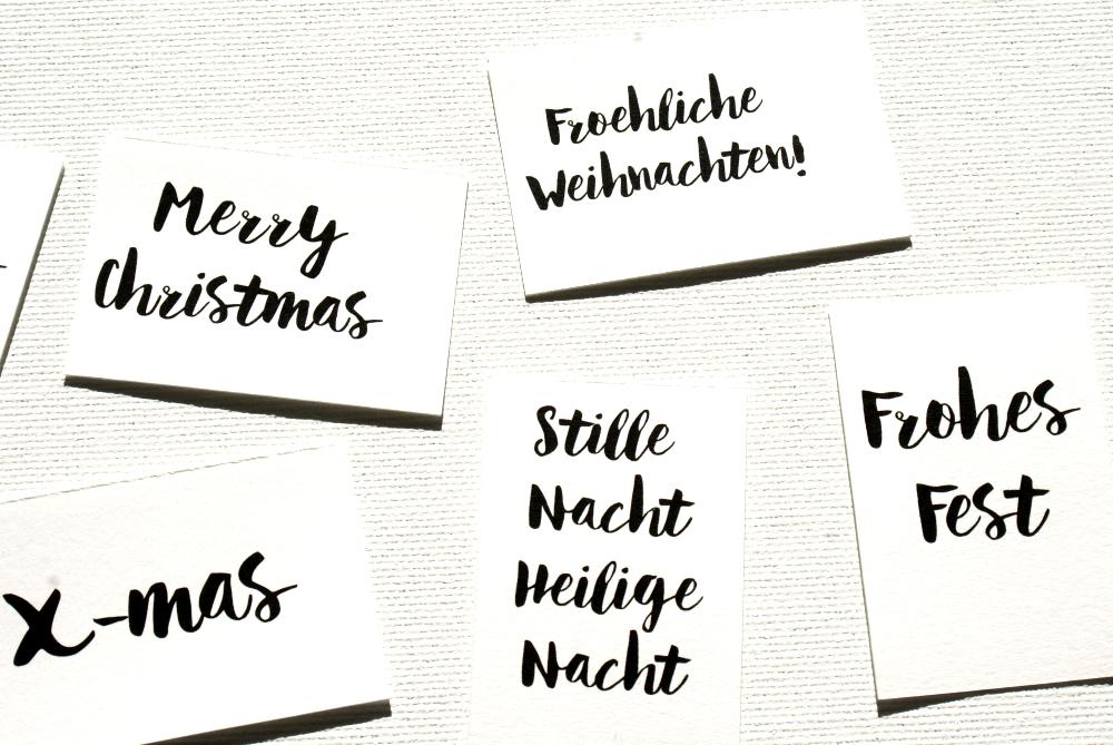 Geschenkanhänger, Weihnachten, Was man sich im November vornehmen sollte, Formstil.com