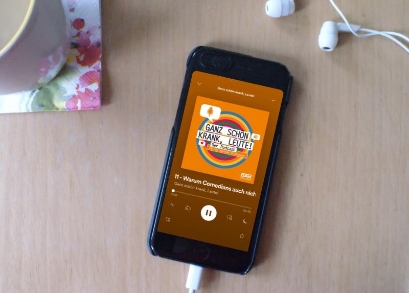 Ganz schön krank Comedian DRK Podcast Hörprobe #6 für einen smoothen Übergang in den Frühling